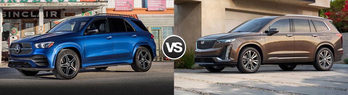 2020 Mercedes-Benz GLE vs 2020 Cadillac XT6