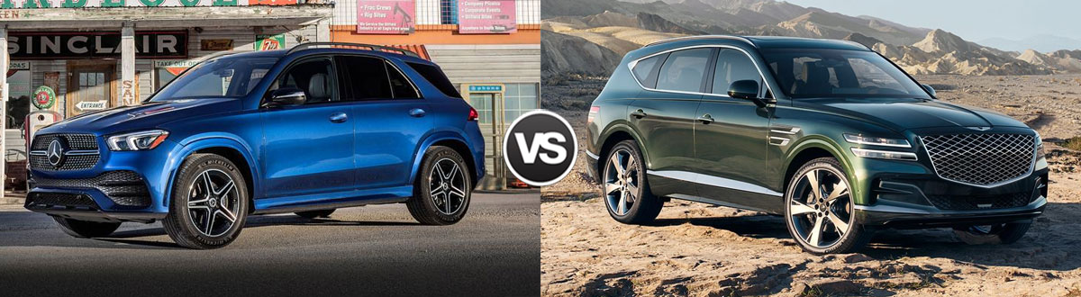 2020 Mercedes-Benz GLE vs 2021 Genesis GV80