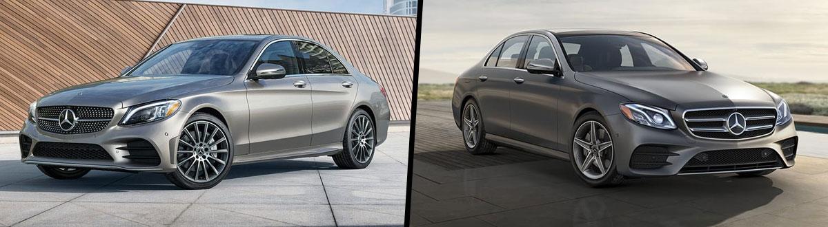2020 Mercedes-Benz C-Class vs 2020 Mercedes-Benz E-Class