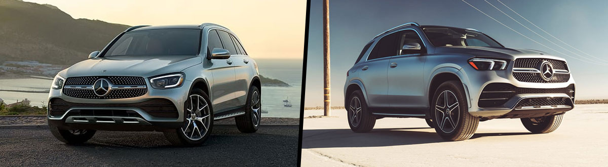2020 Mercedes-Benz GLC 300 vs 2020 Mercedes-Benz GLE 350