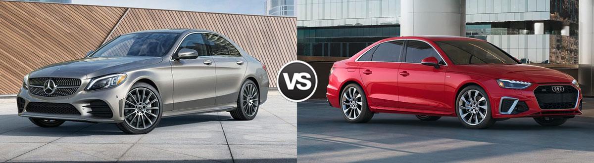 2021 Mercedes-Benz C-Class vs 2021 Audi A4