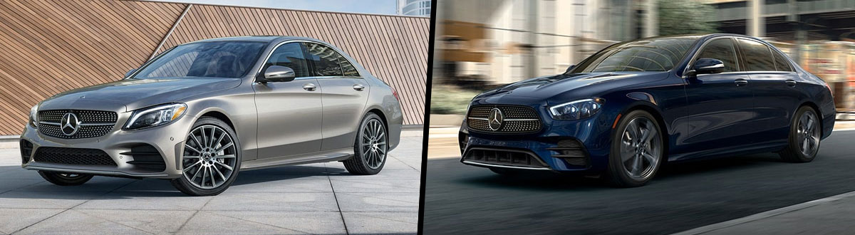 2021 Mercedes-Benz C-Class vs 2021 Mercedes-Benz E-Class