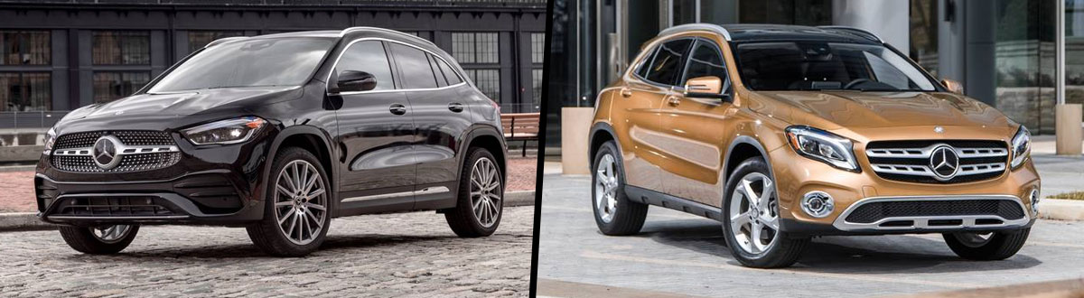 2021 Mercedes-Benz GLA 250 vs 2020 Mercedes-Benz GLA 250