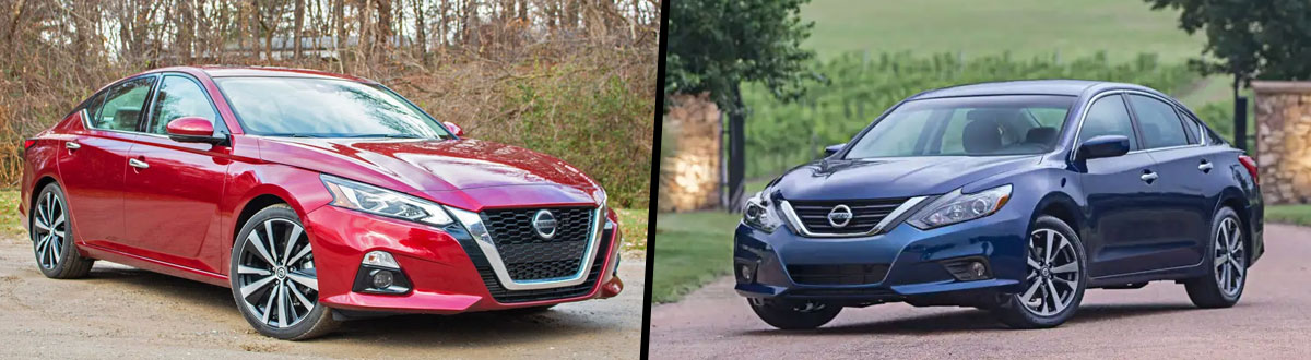 2019 Nissan Altima vs 2018 Nissan Altima