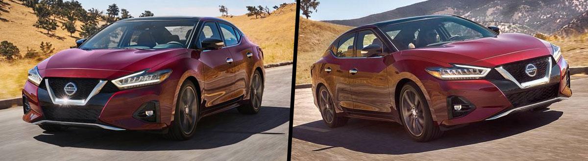 2020 Vs 2019 Nissan Maxima Comparison Bend Or