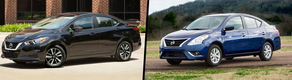 2020 Nissan Versa Vs 2019 Nissan Versa Comparison Hinesville Ga