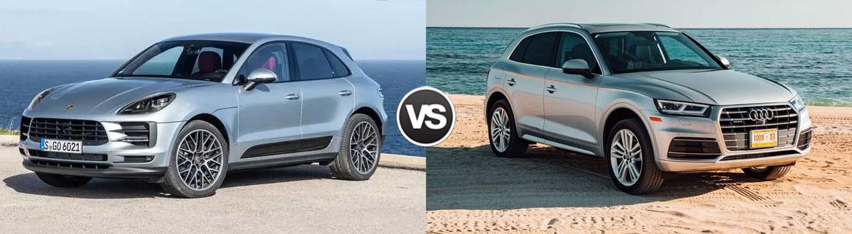Compare 2019 Porsche Macan vs. 2019 Audi Q5