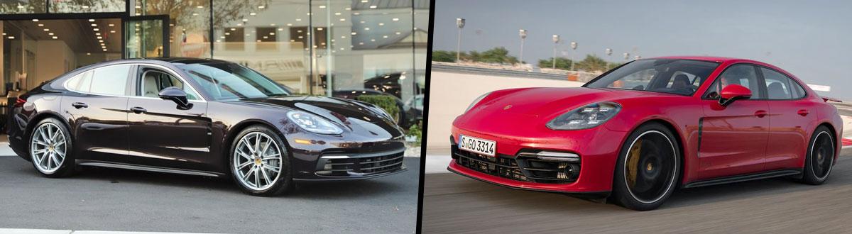 2019 Porsche Panamera S vs 2019 Porsche Panamera GTS