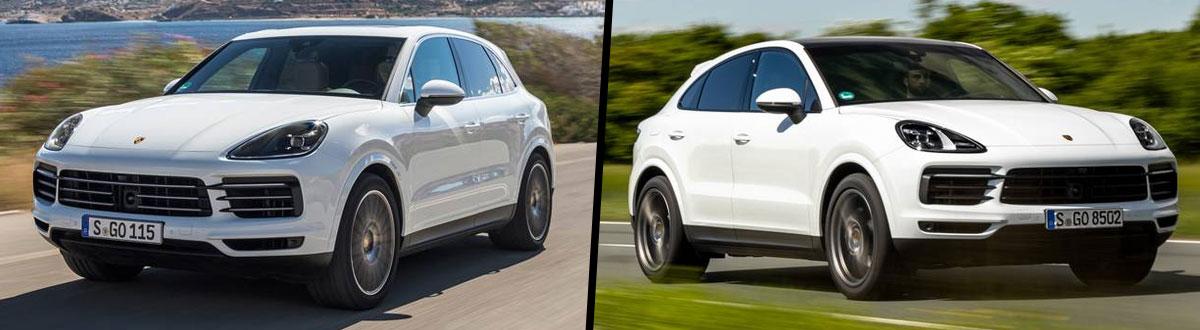 Compare 2020 Porsche Cayenne Vs Porsche Cayenne Coupe San Diego Ca