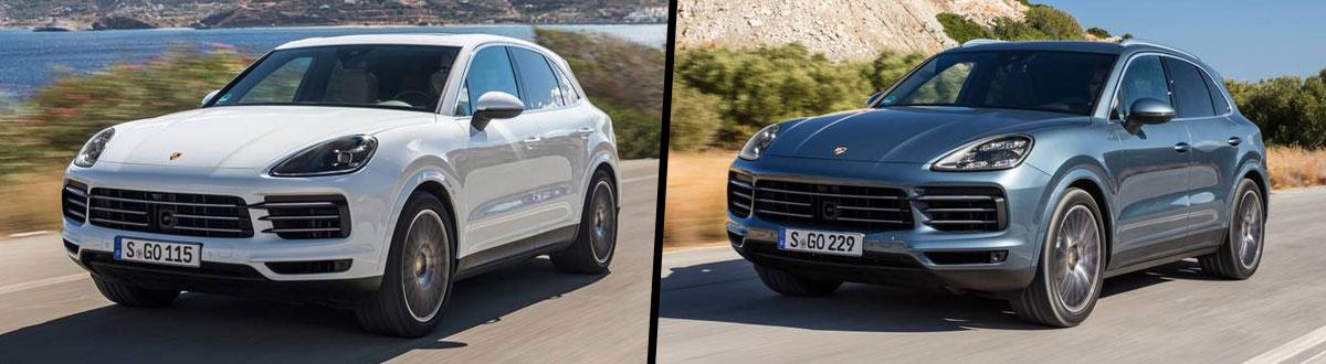 2020 Porsche Cayenne vs 2020 Porsche Cayenne S