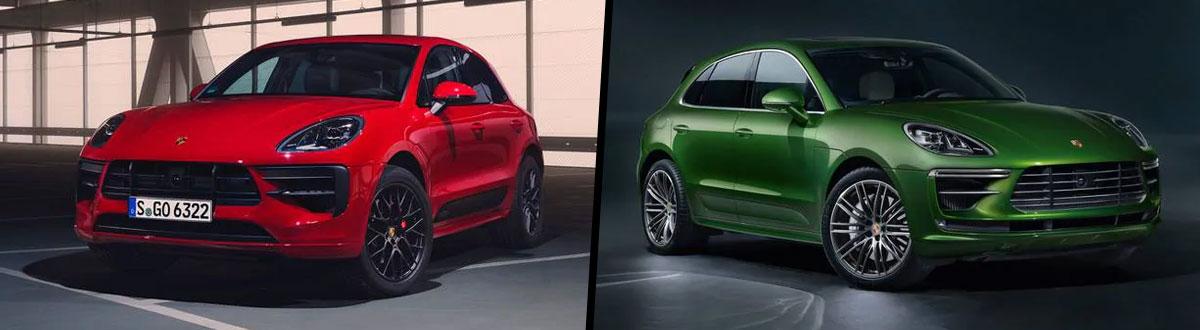 2020 Porsche Macan GTS vs 2020 Porsche Macan Turbo
