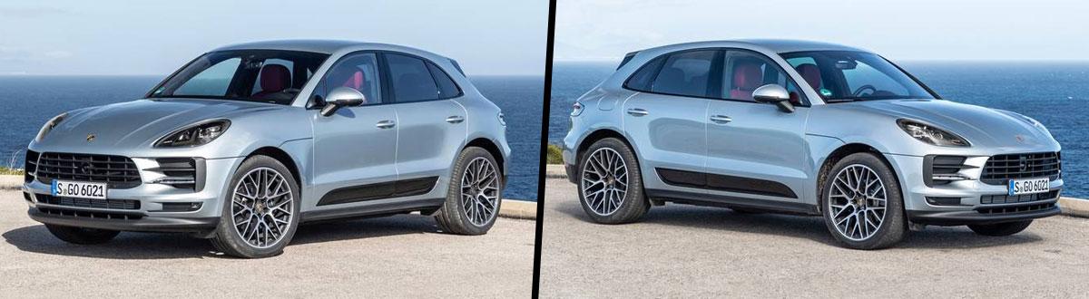 2020 Porsche Macan vs 2019 Porsche Macan