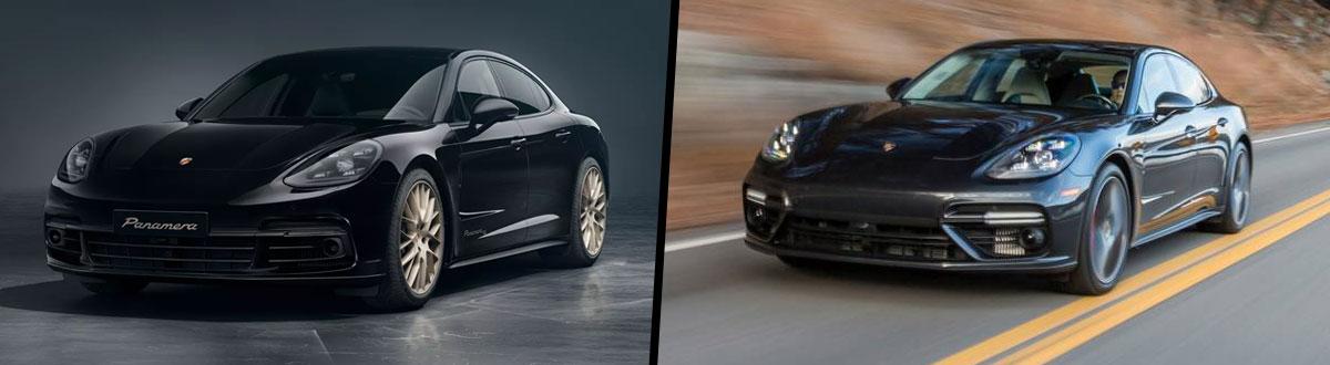 2020 Porsche Panamera vs 2019 Porsche Panamera