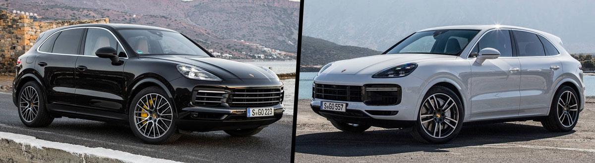 2021 Porsche Cayenne S vs 2021 Porsche Cayenne Turbo