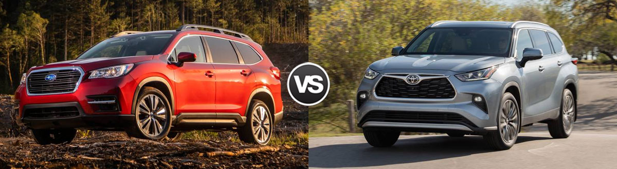 2020 Subaru Ascent vs 2020 Toyota Highlander
