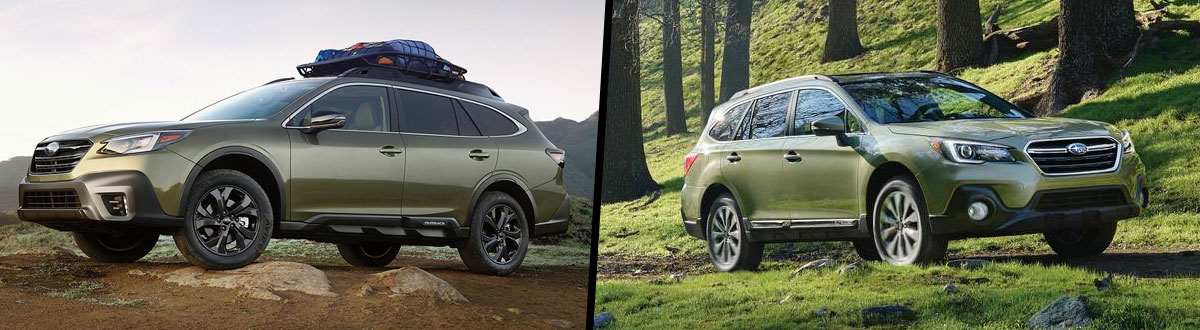 2020 Subaru Outback vs 2019 Subaru Outback Comparison