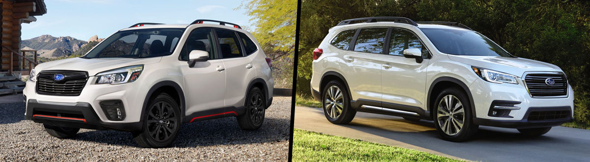 2021 Subaru Forester vs 2021 Subaru Ascent