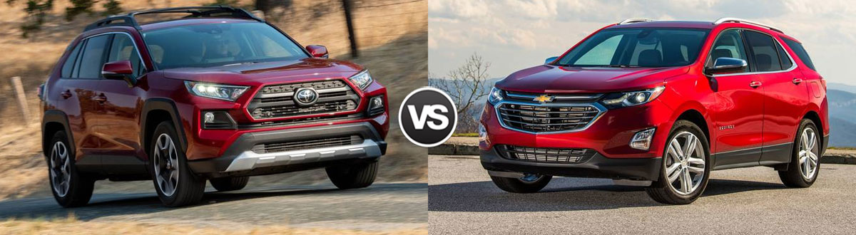 2020 Toyota RAV4 vs 2020 Chevy Equinox