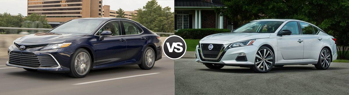 2021 Toyota Camry vs 2021 Nissan Altima