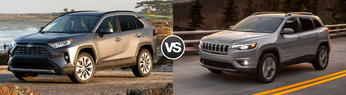 2021 Toyota RAV4 vs 2021 Jeep Cherokee