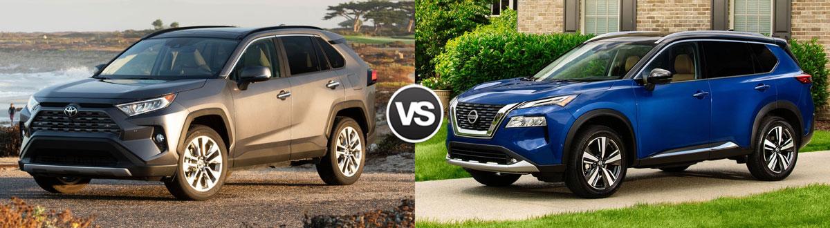2021 Toyota RAV4 vs 2021 Nissan Rogue