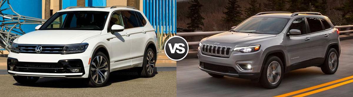 2020 Volkswagen Tiguan vs 2020 Jeep Cherokee
