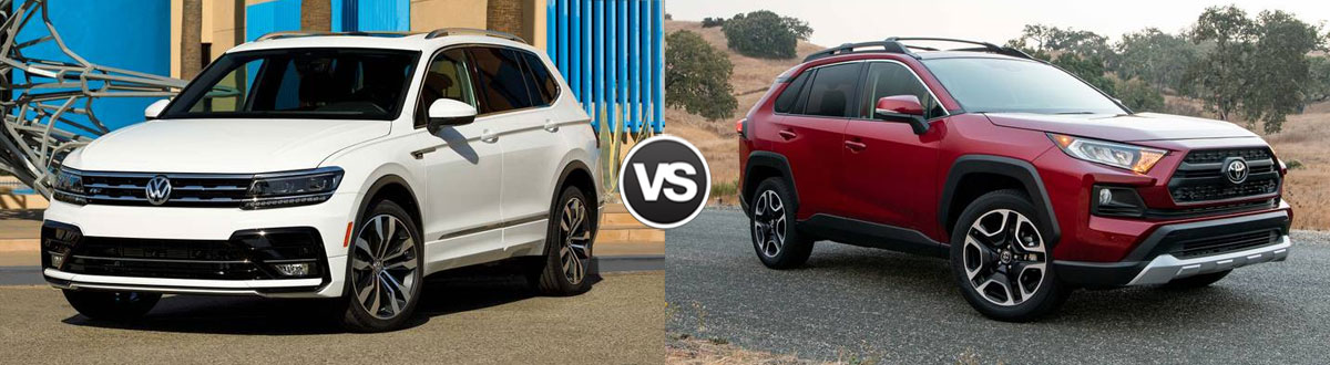 2021 Volkswagen Tiguan vs 2021 Toyota RAV4